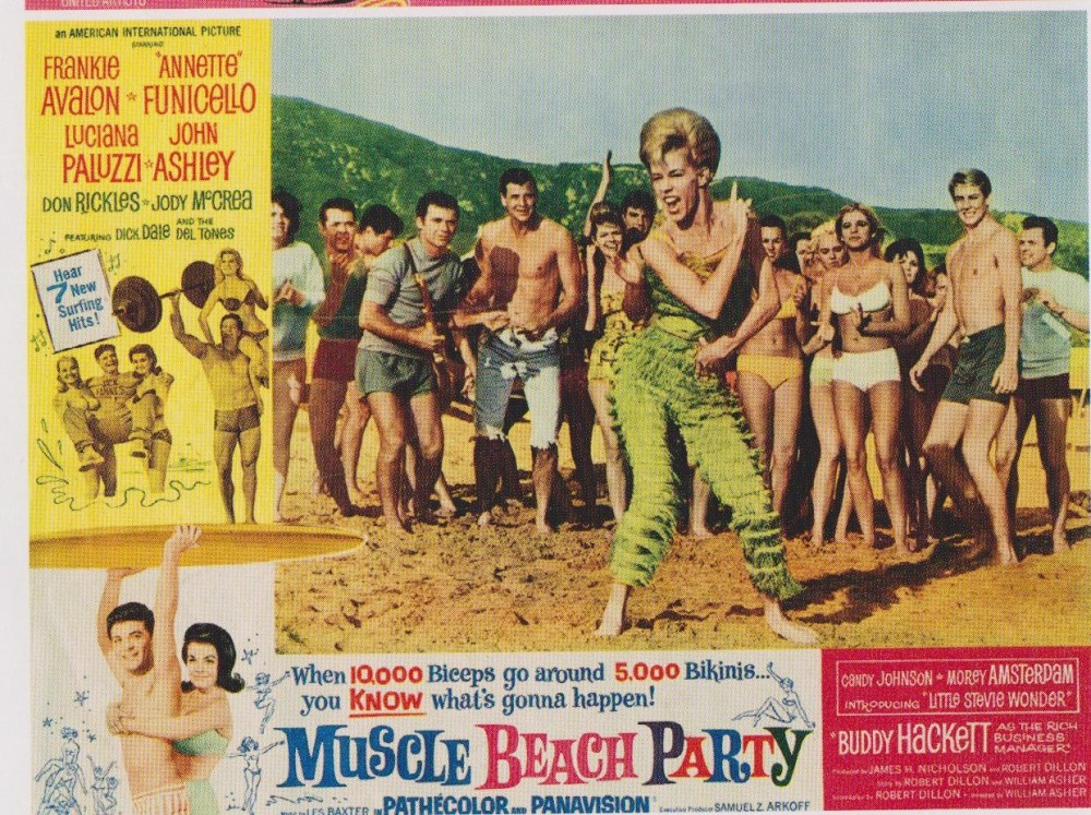Muscle Beach Party 1964  LC candy johnson
