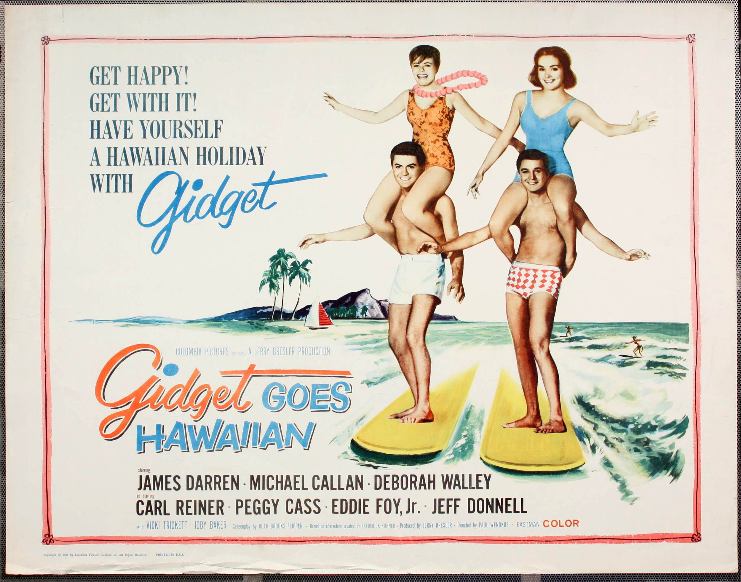 Gidget Goes Hawaiian (1961) | Beach Party Movies