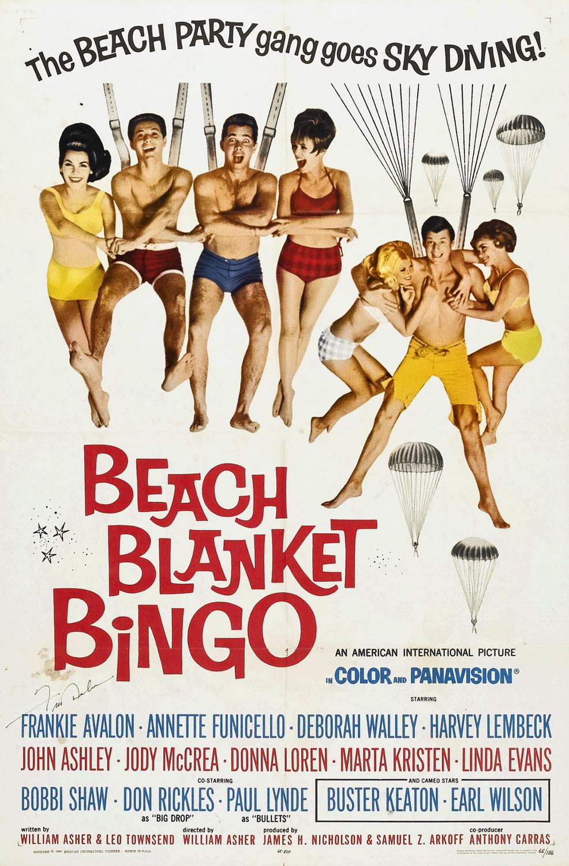 Beach Blanket Bingo 1964 poster 1