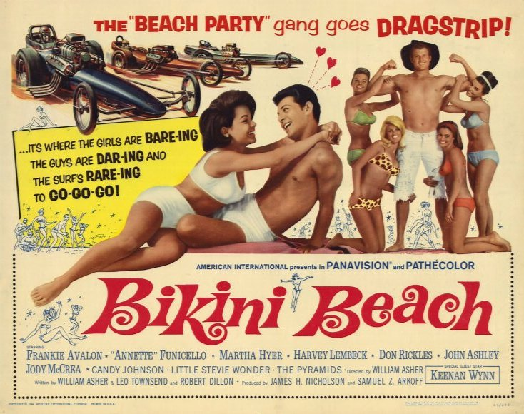 Bikini Beach 1964 poster landscape