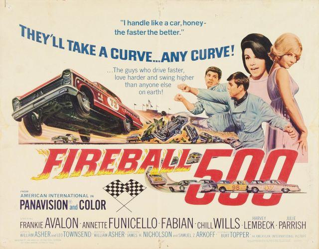 Fireball 500 1966 poster LC poster