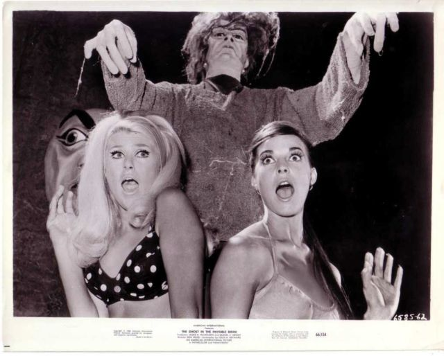 GHOST IN THE INVISIBLE BIKINI PIN UP DEBORAH WALLEY SEXY CULT