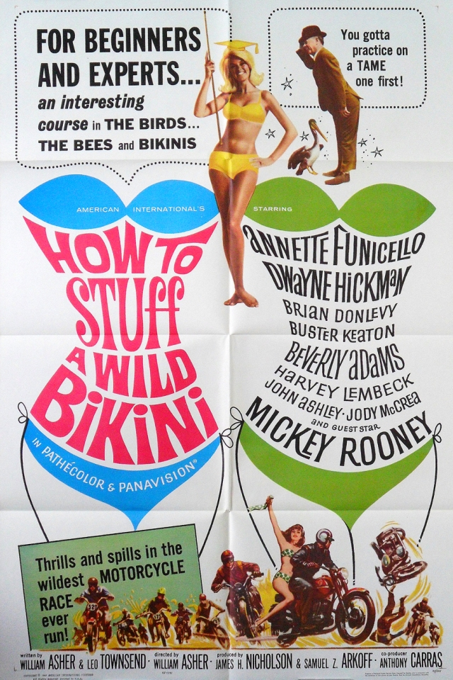 How To Stuff a Wild Bikini 1965  poster 2