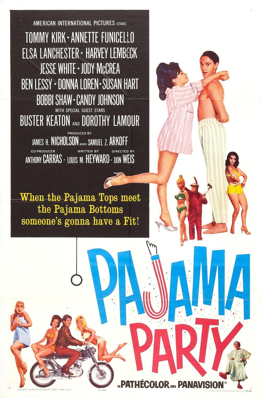 Pajama Party 1964 poster 01