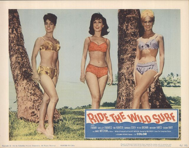 Ride The Wild Surf 1964 Original Movie Poster