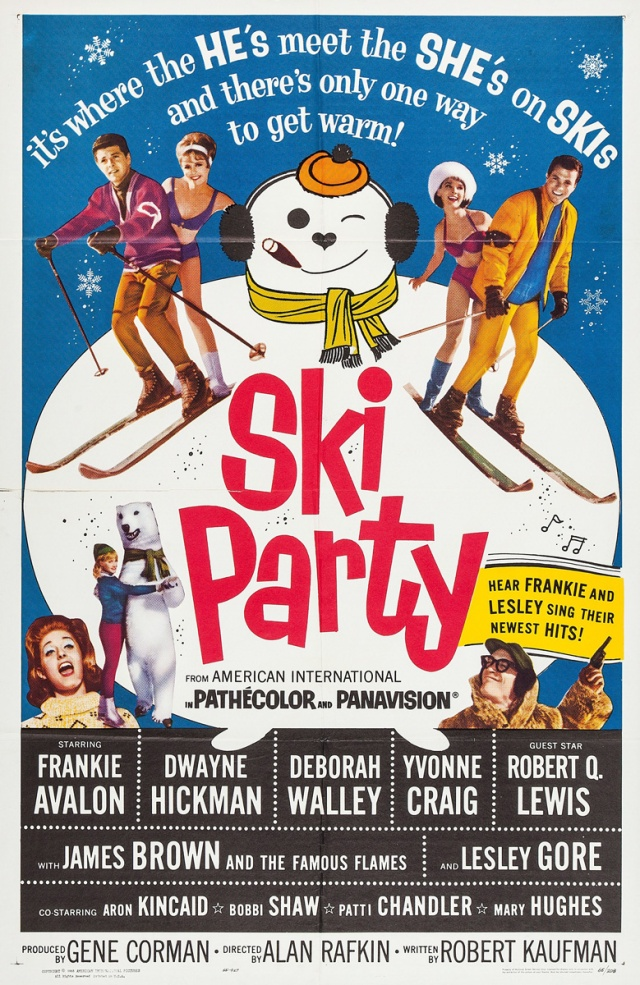 Ski Party 1965 poster