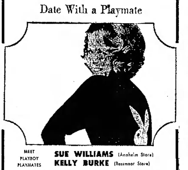 1966 Sue Williams Playmate Independent-Fri-Sep-2-1966-clip