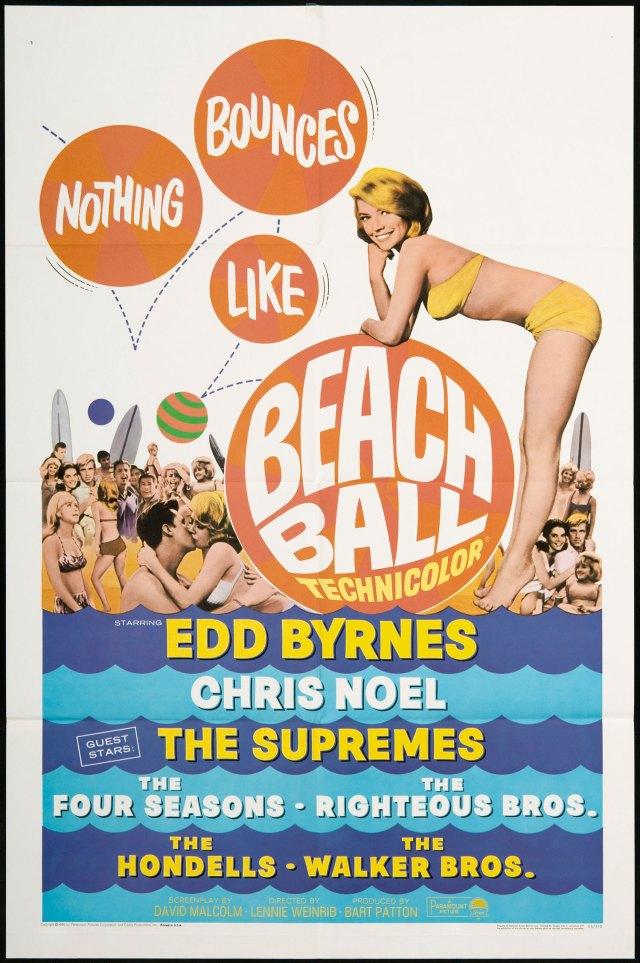 Beach Ball 1965 poster