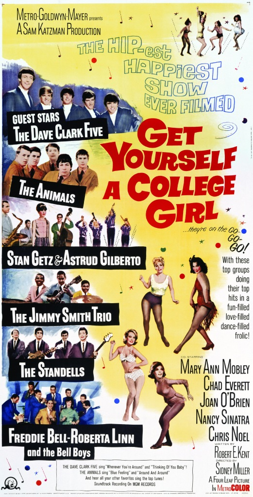 Get Yourself a College Girl Poster BoxArt