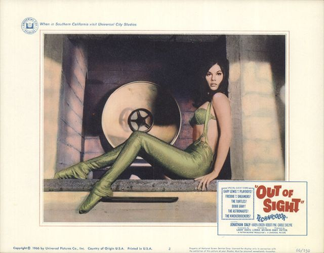 Out of Sight 1966 Original Movie Poster Comedy-2