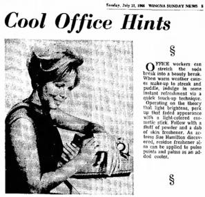 Sue-Williams-The_Winona_Daily_News_Sun__Jul_31__1966_Cool-Office-Hints