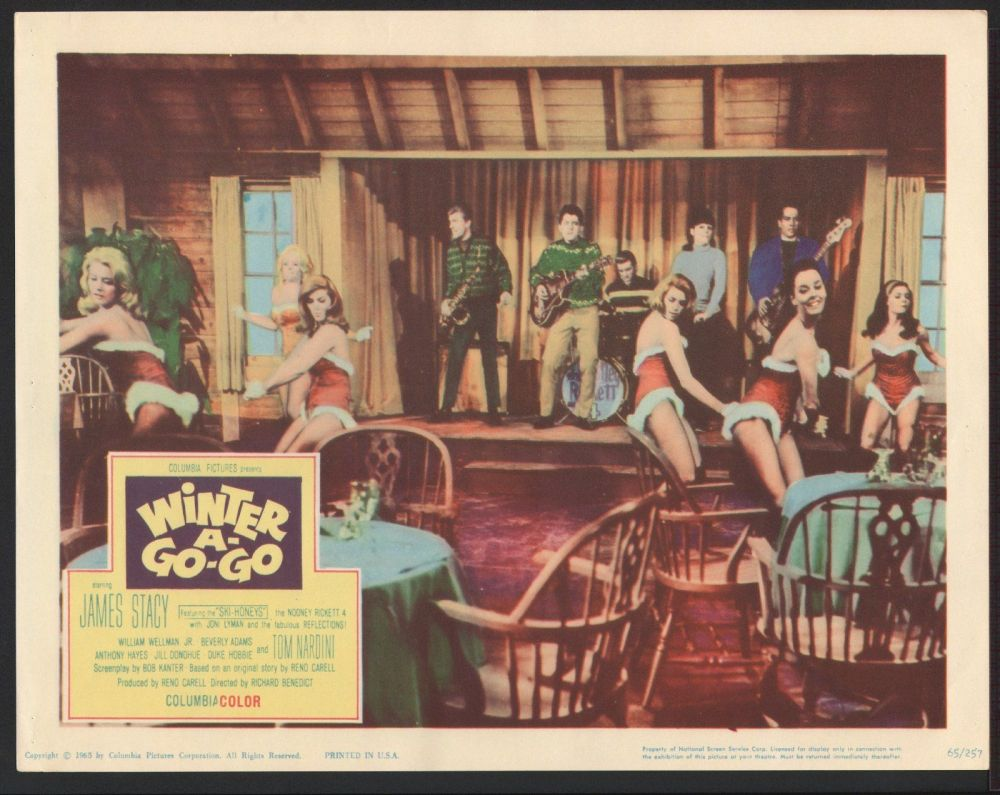 WINTER A-GO-GO - 11X14 LOBBY CARD - 1965 - GO-GO DANCING!