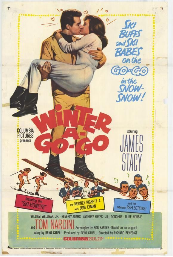 WINTER A GO-GO Movie POSTER 27x40 James Stacy William Wellman Jr. Beverly Adams