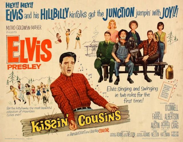 Kissin' Cousins half-sheet poster
