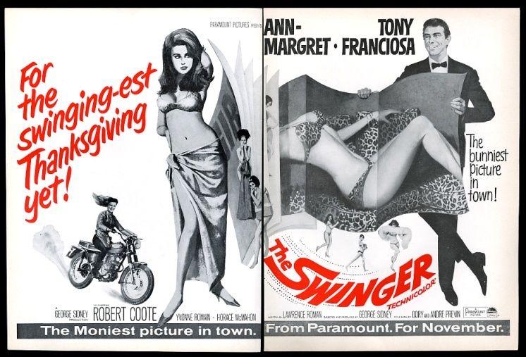 Ann-Margret - The Swinger trade advertisement