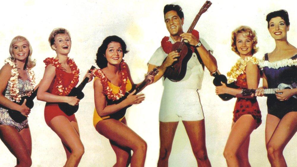 Blue Hawaii elvis women