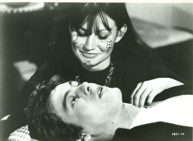 CHRISTOPHER JONES, MAGGIE THRETT original movie photo 1968 THREE IN THE ATTIC