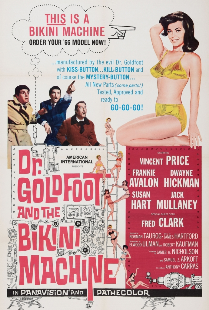Dr Goldfoot & the Bikini Machine 1965 poster-1