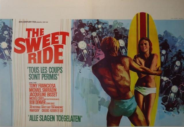 THE SWEET RIDE: TONY FRANCIOSA:: S28:belgian poster