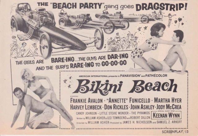 BIKINI BEACH Advertisement