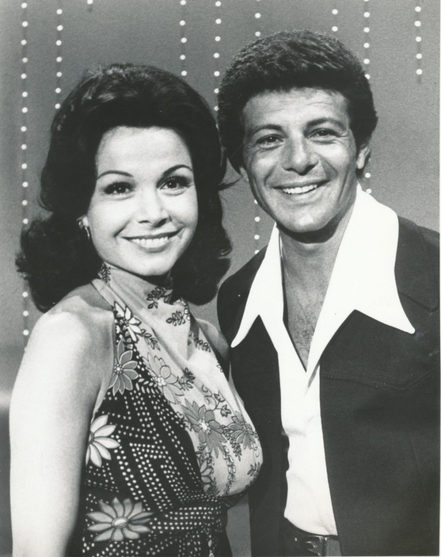 ANNETTE FUNICELLO_FRANKIE AVALON_8X10 COPY PHOTO G22977