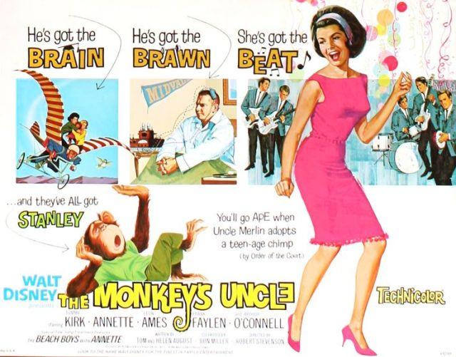 annette monkey's uncle half sheet