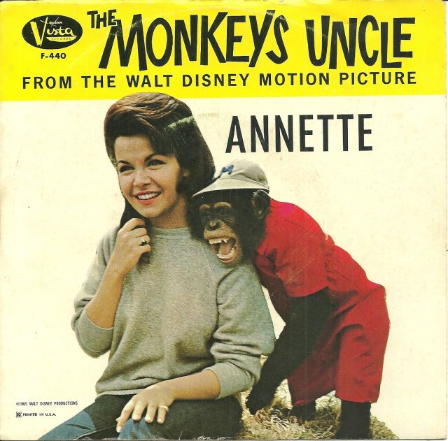 "Annette W_The Beachboys ""The Monkey's Uncle"" Hear It-1"