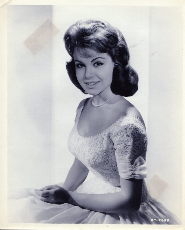 Babes In Toyland-Annette Funicello-8x10-B&W-Still-VG-1