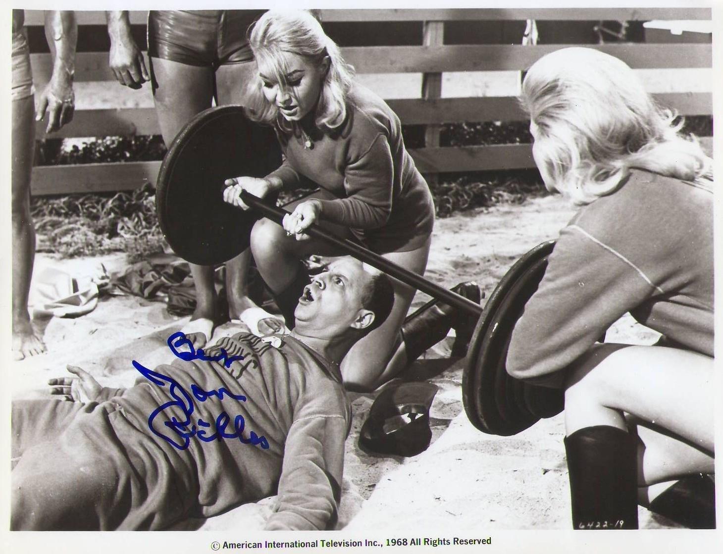 Don Rickles Autographs Muscle Beach Party iz leta 1964-3331