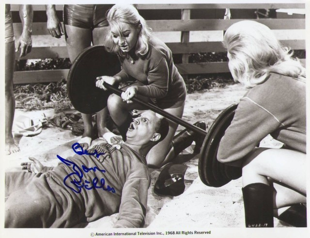 Don Rickles signed photo MUSCLE BEACH PARTY vintage original RARE comedian mint