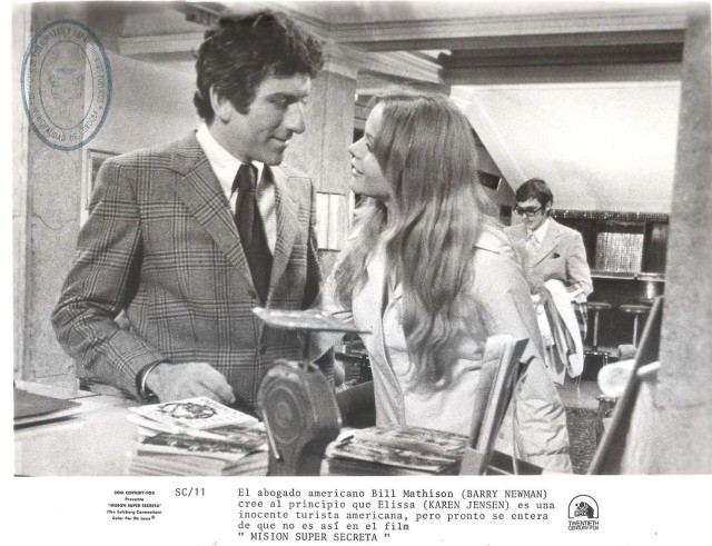 "KAREN JENSEN & BARRY NEWMAN in ""The Salzburg Connection"" Original Vintage 1972"