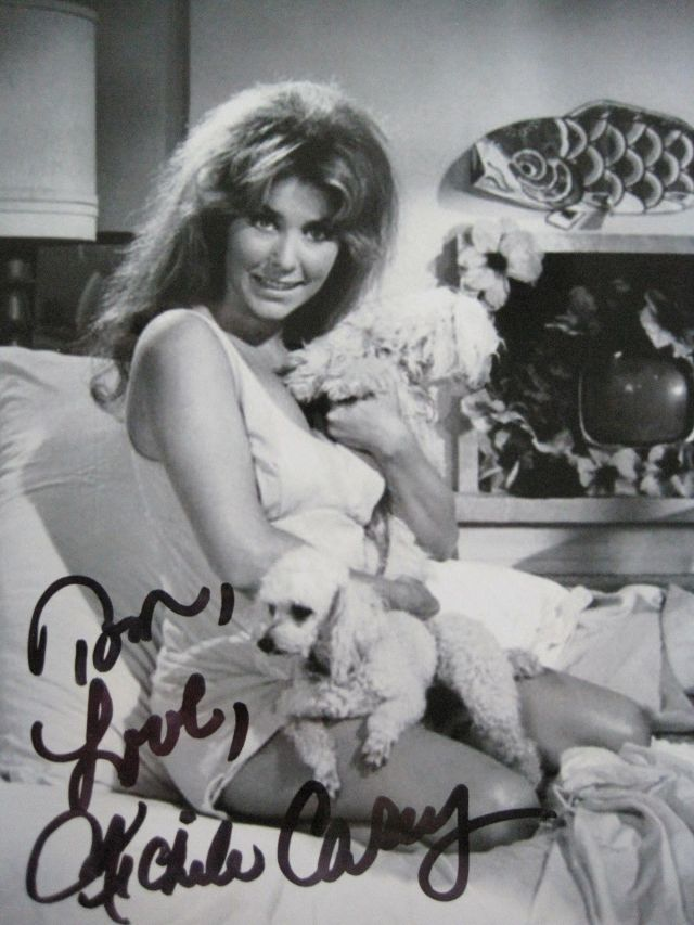 MICHELE CAREY SIGNED PHOTO. EL DORADO. ELVIS. LIVE A LITTLE LOVE A LITTLE.