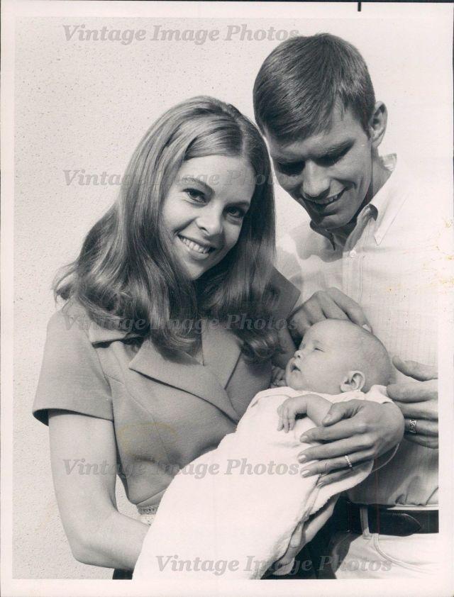 Mikki Jamison Actress Kent McCord Rare Occasion NBC Hollywood Press Photo-1