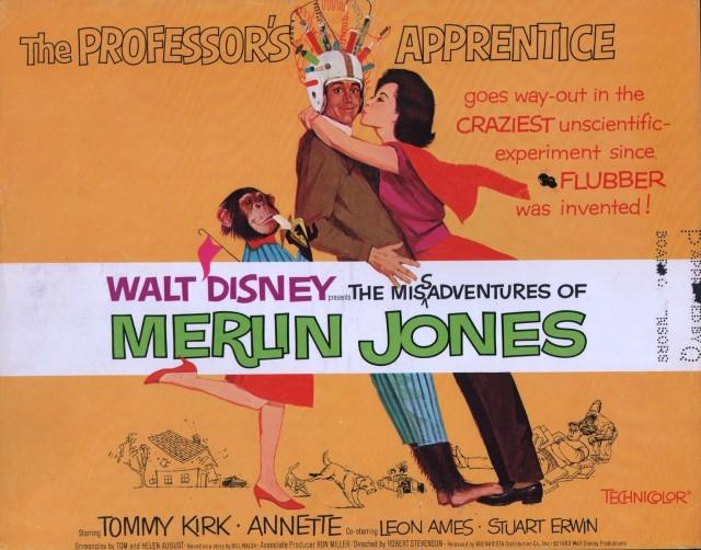 Misadventures of Merlin Jones Lobby Card-1964-Annette Funicello