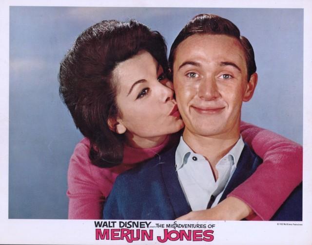 Misadventures of Merlin Jones Lobby Card-1964-Tommy Kirk