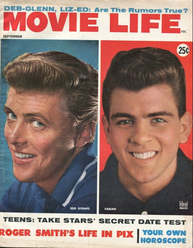 Movie Life 9_1959-Ideal-Fabian-Edd Byrnes-Annette-James Garner-James Arness-VG