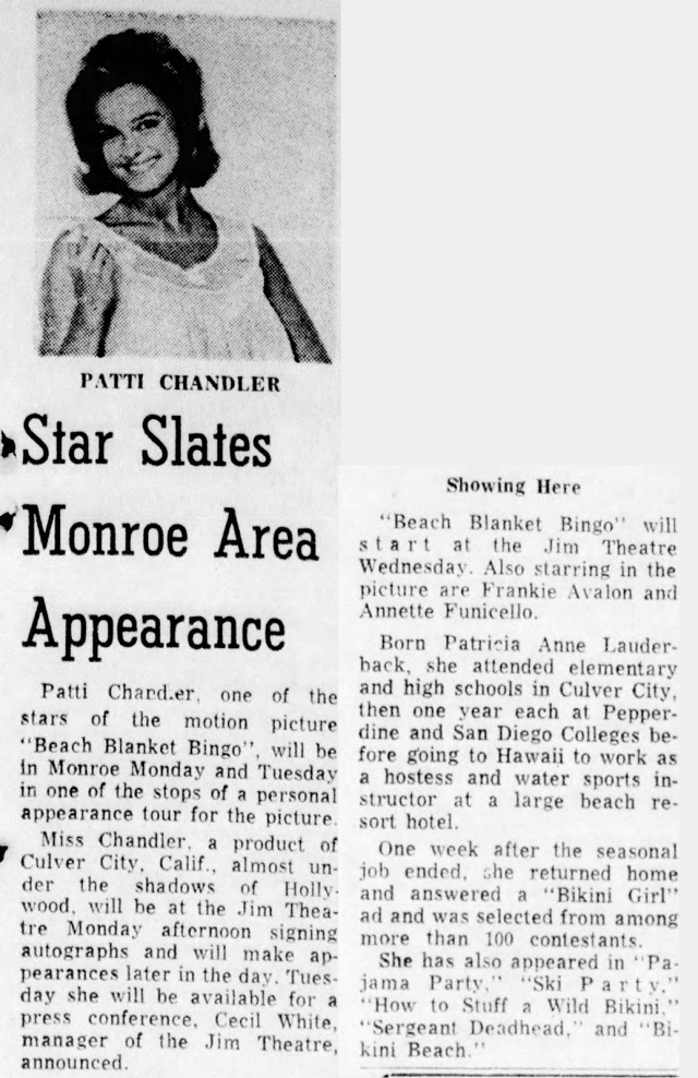 Patti Chandler -Monroe_Morning_World_Sun-Jun_6-1965