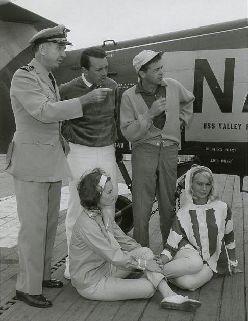 QUINN O'HARA GLORIA NEIL VIC DAMONE THE LIVELY ONES ORIGINAL 1964 NBC TV PHOTO