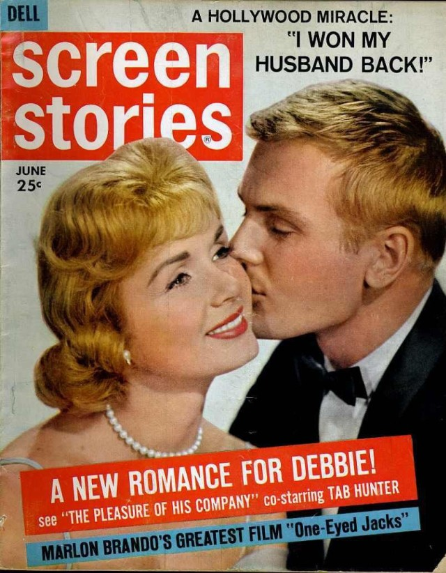 Screen Stories June 1961 Debbie Reynolds Tab Hunter Fred Astaire Caol Lynley
