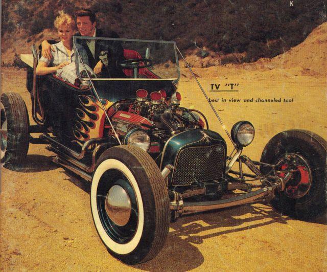 VTG HOT ROD MAGAZINE 1959 NORM GRABOWSKI KOOKIE T BUCKET RAT CUSTOM CAR CULTURE-1