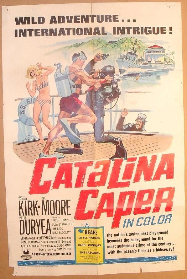 catalina caper poster original