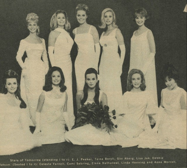 Debbie Watson Linda Henning clipping original magazine photo 2pg 8x10 R4884