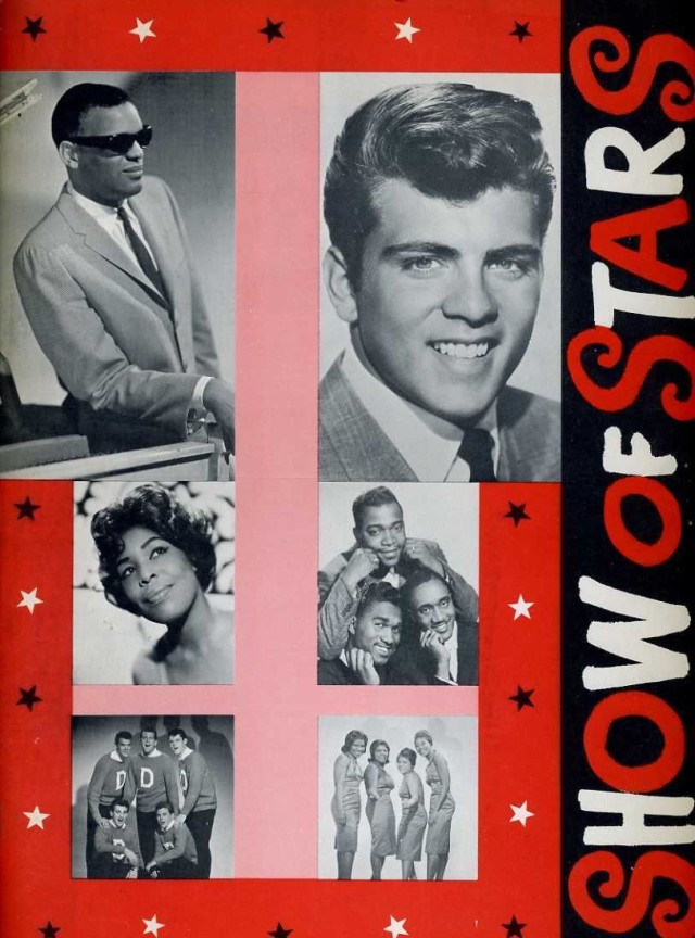 Fabian Ray Charles Original 1959 Show Of Stars Program Book Fabian Shep And Limelights