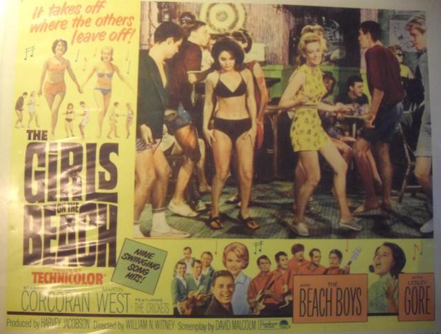 Girls On Beach The Crickets Beach Boys Lesley Gore