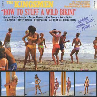 How To Stuff A Wild Bikini OST cover
