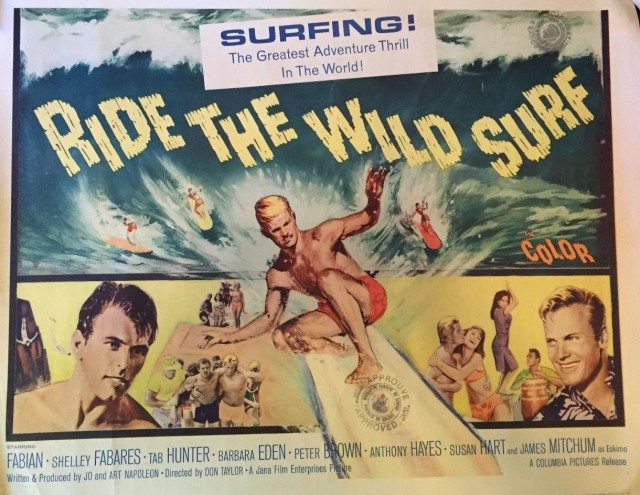 "Ride The Wild Surf "" 1964 Movie Poster"