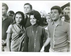 Donna Michelle, Annette Funicello, Frankie Avalon