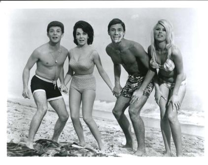 Frankie Avalon, Annette Funicello, Michael Nader, Mary Hughes