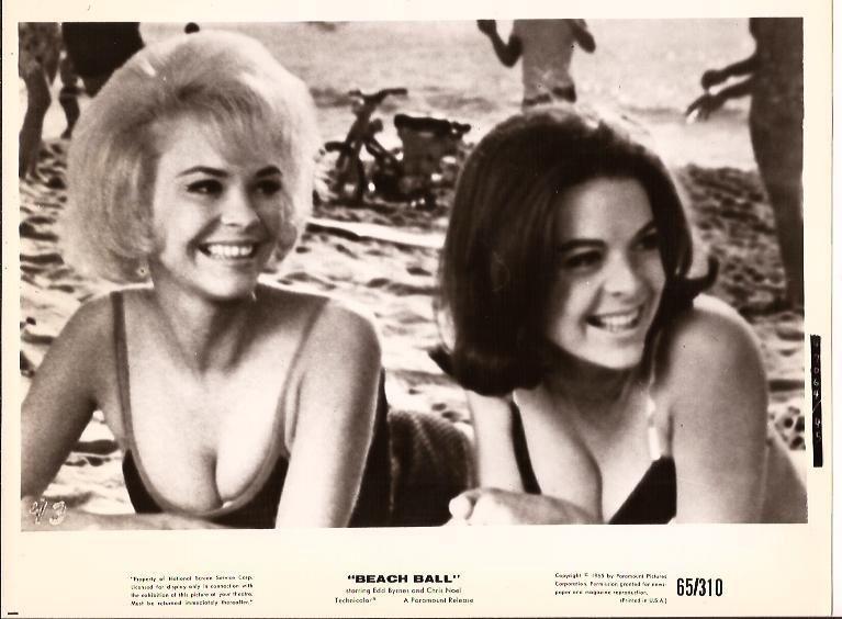 Ten Lobby Cards Of Beach Girls Boys And Balls Beach