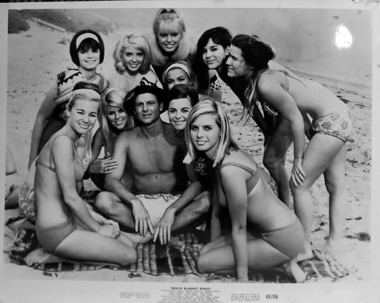 f44f2d098e8e Beach Blanket Bingo Joel McCrea and beach girls – Beach Party Movies